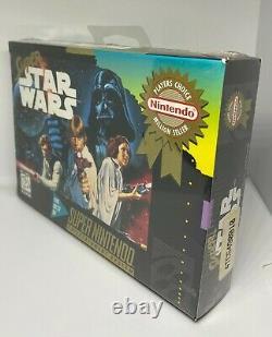Super Star Wars (Super Nintendo Entertainment System, 1992) SEALED NEW NIB