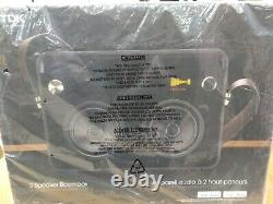 TDK Life on Record TP6802BLK 2-Speaker Boombox Audio System Brand New Sealed