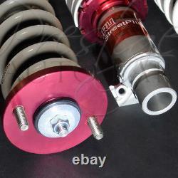 TRUHART Streetplus Adjustable Coilover Suspension System for 88-91 Civic CRX EF