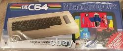 The C64 MAXI COMMODORE +17k Games & Software USA Version New & Sealed
