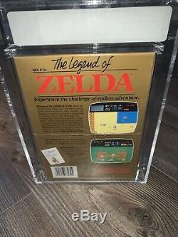 The Legend of Zelda (Nintendo Entertainment System, 1987) VGA 85 SEALED RARE