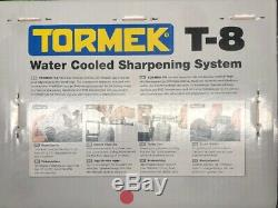 Tormek T-8 Water Cooled Precision Sharpening System brand new Factory Sealed