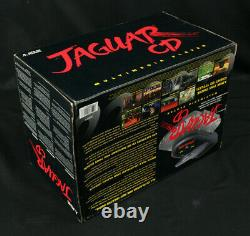 Unopened New NOS Atari Jaguar CD Console Sold As Sealed Collectible