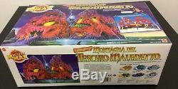 Vintage #1992 Mattel Mighty Max Skull Mountain PLAYSET#NIB SEALED BOX