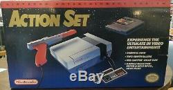 Vintage Original Nintendo Entertainment System NES Action Set BRAND NEW SEALED
