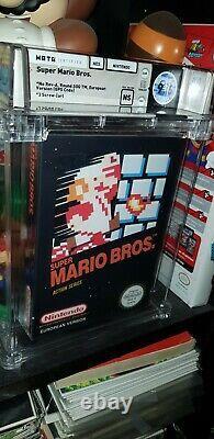 WATA 9.6 SEALED NES Super Mario Bros. (Nintendo Entertainment System) RARE