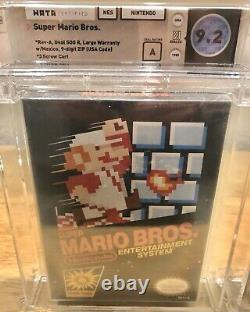 WATA TRIO of 9.2 A SEALED NES Super Mario Bros. (Nintendo Entertainment System)