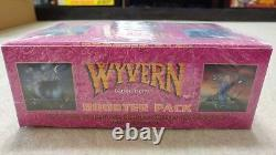 Wyvern KINGDOM Sealed BOOSTER BOX US GAMES SYSTEMS Mike Fitzgerald CCG RARE