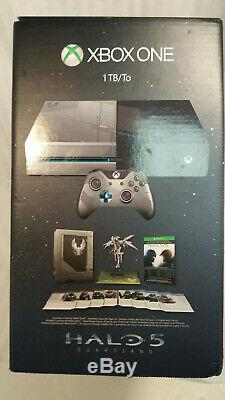 XBOX ONE 1TB Halo 5 Guardians Limited Edition Console NEW FACTORY SEALED