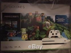 XBOX ONE S 1tb MINECRAFT COLLECTIONS BUNDLE. BRAND NEW AND SEALED