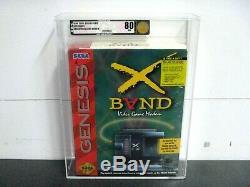 X Band Video Game Modem SEGA GENESIS System New Sealed VGA Graded 80 NM