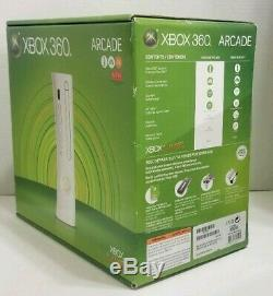 Xbox 360 256MB Arcade Console NEVER BEEN OPENED SEALED IN BOX SUPER RARE