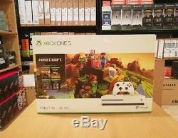 Xbox One S 1TB Console Minecraft Creators Bundle, New, Sealed