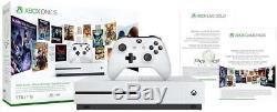 Xbox One S 1TB Console Starter Bundle, New, Sealed