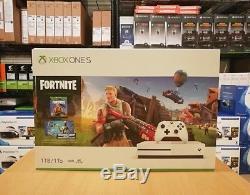 Xbox One S 1TB Fortnite Bundle, 234-00703, New, Sealed