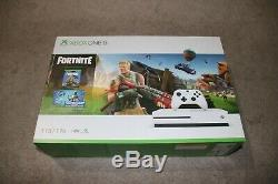 Xbox One S 1TB Fortnite Console Bundle, Delivered by Xmas, Factory Sealed