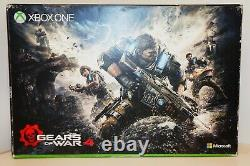 Xbox One S 2tb Limited Edition Console Gears Of War 4 Bundle Crimson Red Sealed