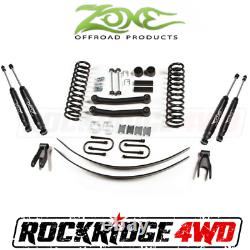Zone 4.5 Suspension Lift Kit System Jeep Cherokee XJ 84-01 With Chyrsler 8.25 J8N